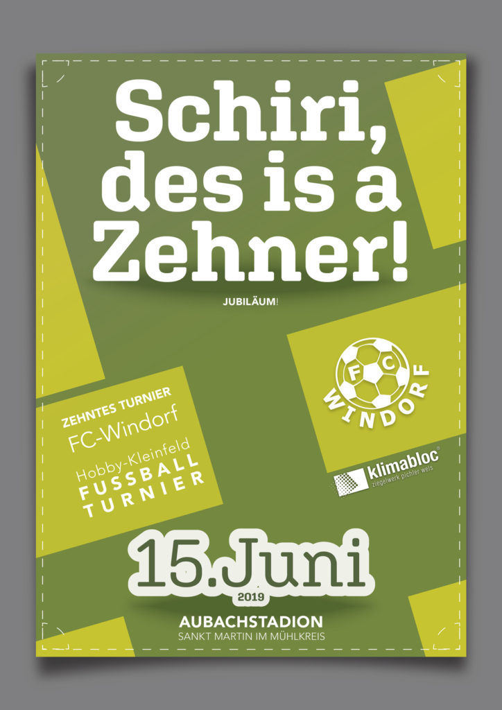 Das zehnte FC-Windorf Kleinfeldturnier!